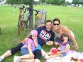 Jason Ortepi w Family - Ride to Conquer Cancer